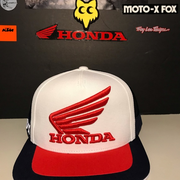 b4d6aeb34b11 Fox Accessories   Racing Honda Hat   Poshmark